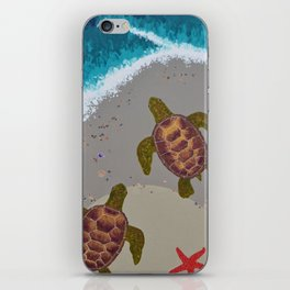 The Tide iPhone Skin
