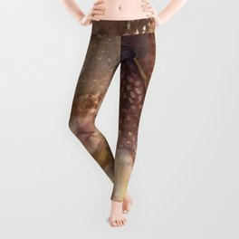 Abstract Shell Leggings