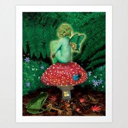 The Amanita Eater Art Print