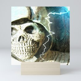 Mr Bones Mini Art Print