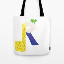 R is for Rapunzel Tote Bag
