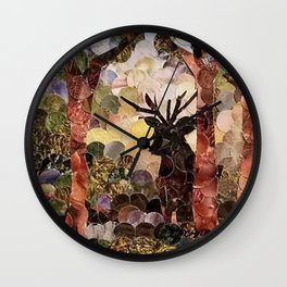 """ Stag "" Wall Clock"