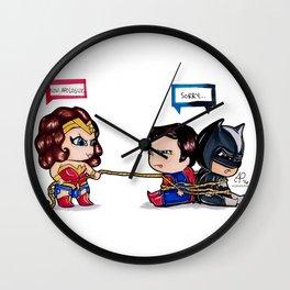 Chibi Dawn of Justice - JLA Wall Clock
