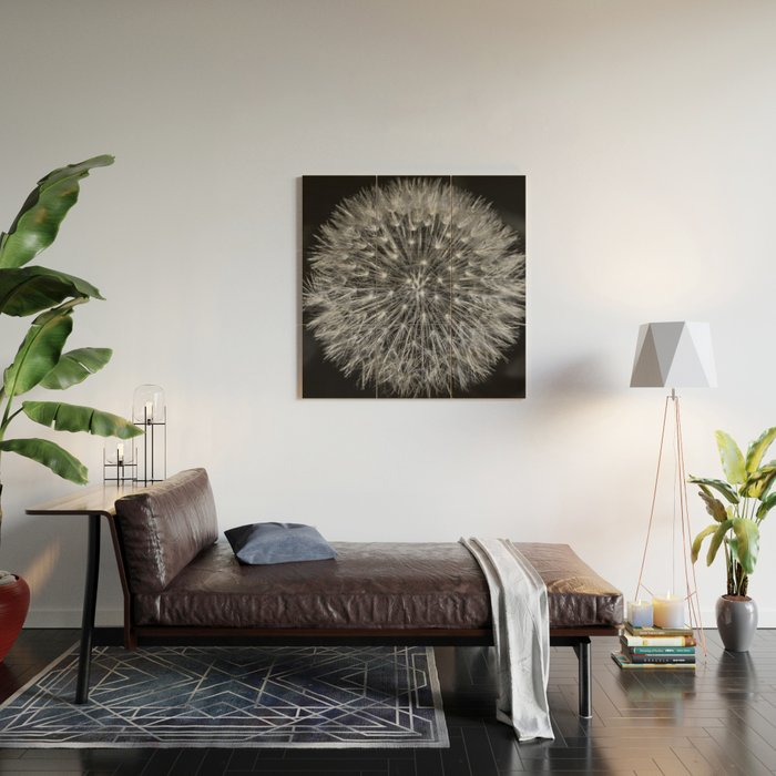 Dandelion Wood Wall Art