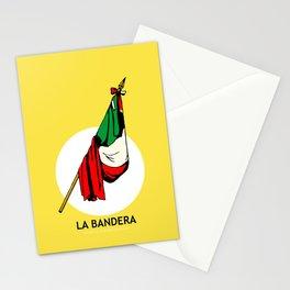La Bandera Mexican Loteria Card Stationery Cards