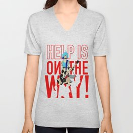 Help is on The Way Unisex V-Neck