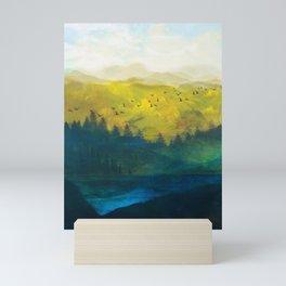 Mountain Lake Mini Art Print