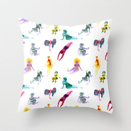 Ecoline party Throw Pillow