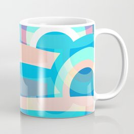Marine abstraction Coffee Mug