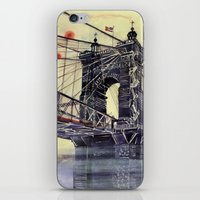 cincinnati iPhone & iPod Skins featuring Cincinnati by takmaj