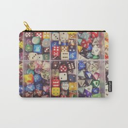 Colorful Dice Carry-All Pouch