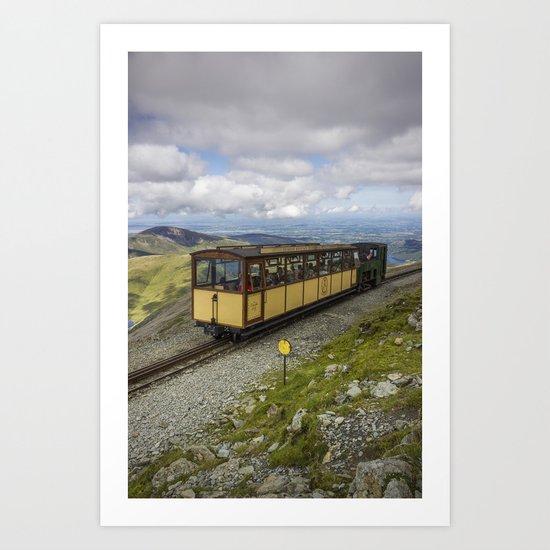 Train To Snowdon Art Print