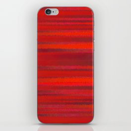 Simply Red iPhone Skin