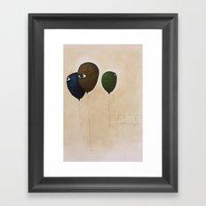 fly high wide eyes Framed Art Print