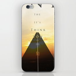 No limited iPhone Skin