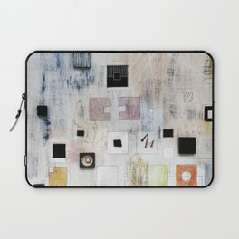 Fading Scapes: Making Marks Laptop Sleeve