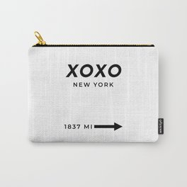XOXO Hugs And Kisses Print XOXO Poster XOXO Wall Art XOXO Decor XOXO Print Hugs And Kisses Decor Carry-All Pouch