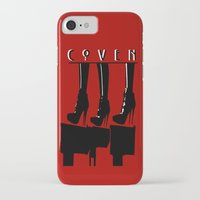coven iPhone & iPod Cases featuring Coven by Ruler Of Nothing Important