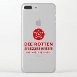 Bayern Munchen Champions Clear iPhone Case