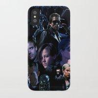 saga iPhone & iPod Cases featuring Terminator Saga by Saint Genesis