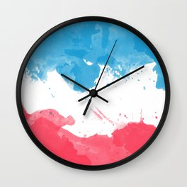 Love of France Wall Clock