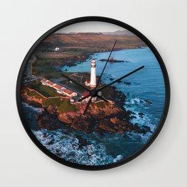 Pigeon Point Lighthouse, California Wall Clock