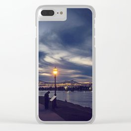 Natchez Under the Hill Clear iPhone Case