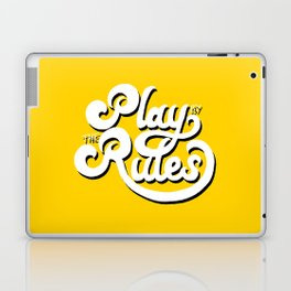 Play by the rules Laptop & iPad Skin