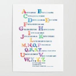 A, You're Adorable Poster