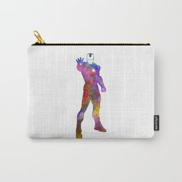 Iron man 01 in watercolor Carry-All Pouch