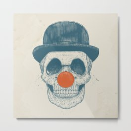 Dead clown Metal Print