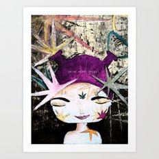 Solar Love Art Print