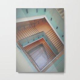 Escheresque Stairs Metal Print