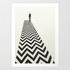 Twin Peaks Minimalist Poster Art Print