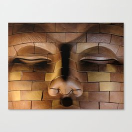 Brickhead 3 Canvas Print