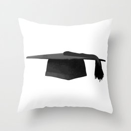 Mortarboard Throw Pillow