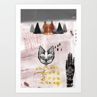 notblack Art Print