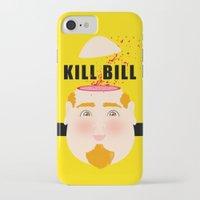 kill bill iPhone & iPod Cases featuring Kill Bill by Frikaditas T-Shirts