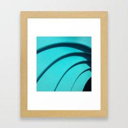 Color Study, Studio City Framed Art Print