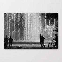 Fountain. Canvas Print