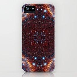 Galaxy Fractal iPhone Case