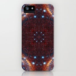 Galaxy Fractal iPhone Case