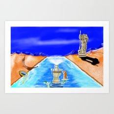 Tiberias Art Print
