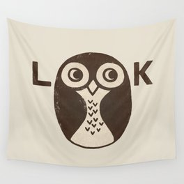 Look Wall Tapestry