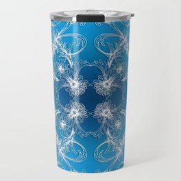 Baroque style gradient ornament. Travel Mug
