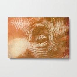 abstract fern Metal Print