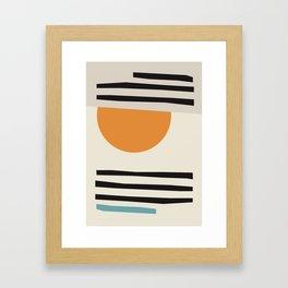 Geometric wall art, Scandinavian print, Geometric print, Scandinavian art, Large wall art, Abstract Framed Art Print