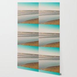 Golden Beach Days Wallpaper