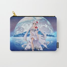 Sailor Moon Crystal Princess Serenity SILVER HAIR Carry-All Pouch