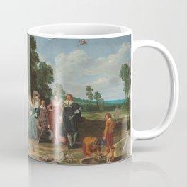 Outdoor Party Dirck Hals 1627 Coffee Mug